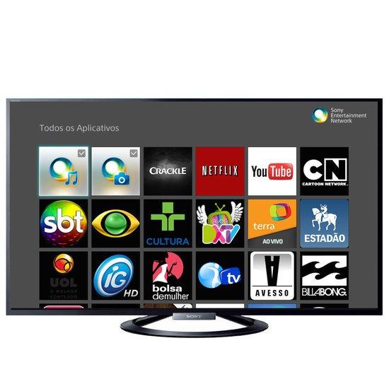 Smart TV LED 50 Sony, Full HD, Wi-Fi, USB Play e 4 HDMI - KDL-50W705A