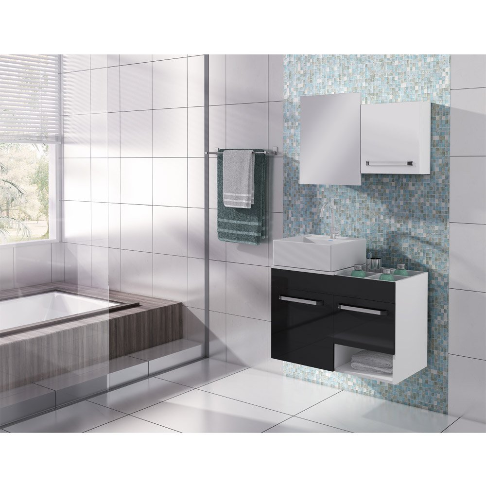 Balcão para Banheiro com Cuba Itatiaia Acqua  Colombo -> Cuba Para Banheiro Com Balcao