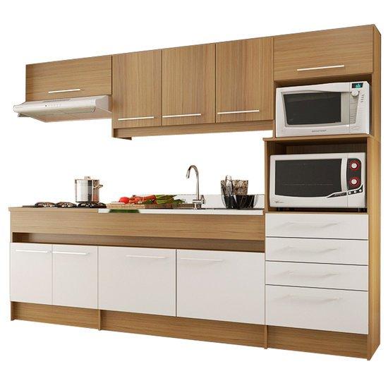 Cozinha Compacta Decibal Ligia 9 Portas CO790  Colombo # Cozinha Compacta Cadorin