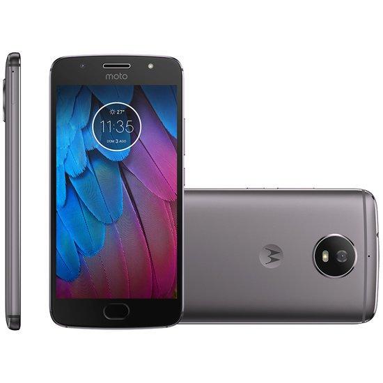 Smartphone Motorola Moto G5S, 32GB, Dual, 16MP, 4G, Platinum - XT1792