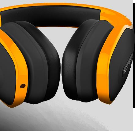 Headphone Pulse Laranja