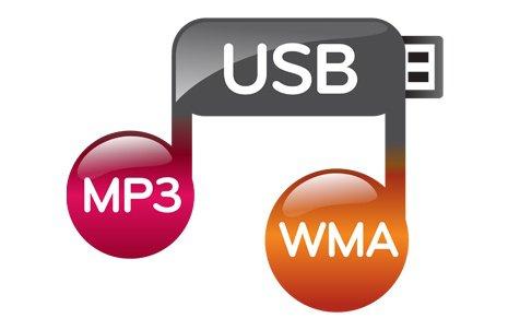 USB MP3 - WMA