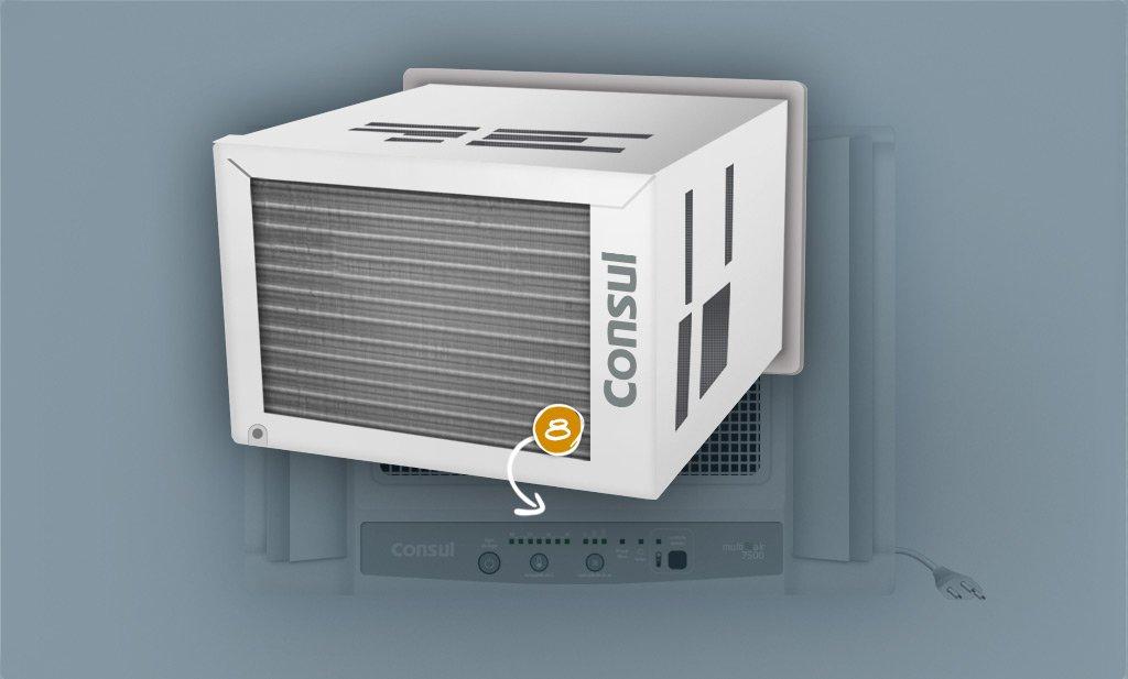 Trocador de Calor Externo (condensador)