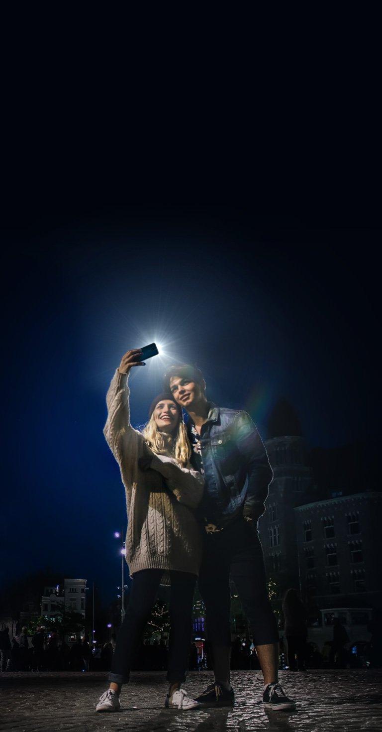 Ilumine suas selfies