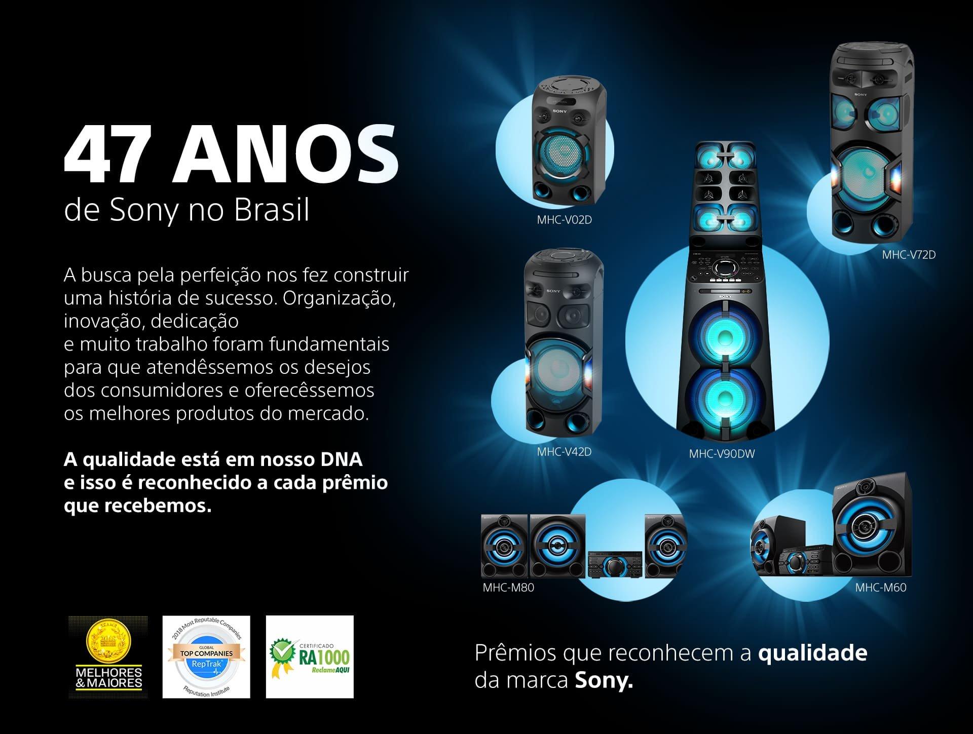 47 Anos de Sony no Brasil