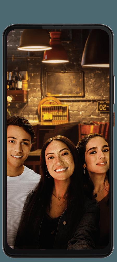 MotorolaOne Hyper selfie