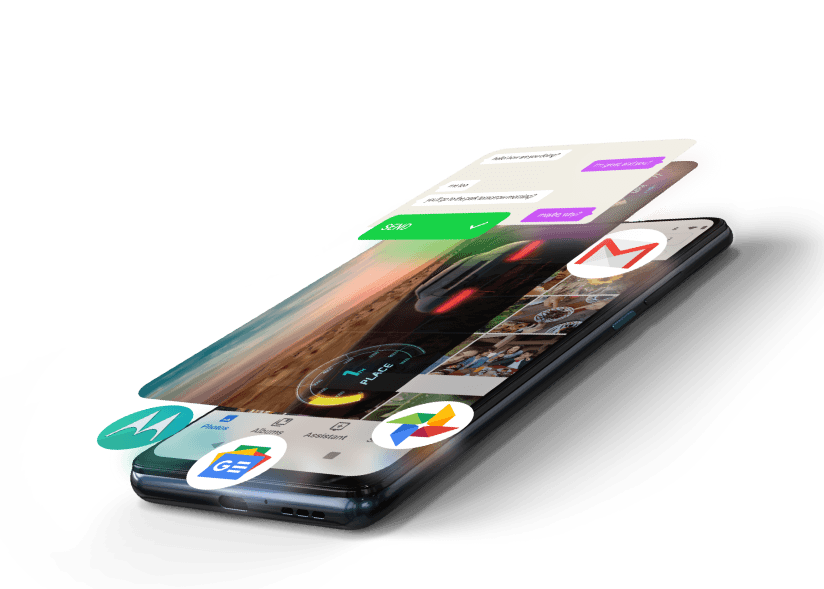 Hyper armazenamento e velocidade no MotorolaOne Hyper