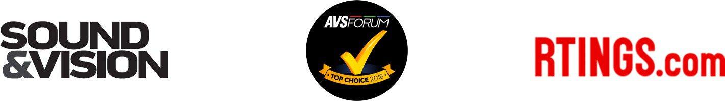 Sound&Vision. AVS Forum. Rtings.com