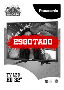 TV LED HD 32 Panasonic Esgotado