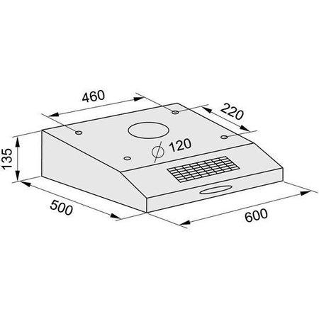 Depurador de Ar 60CM Classic Power 5442 - Fischer