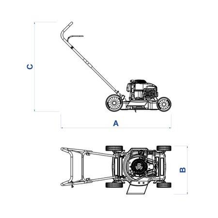 Cortador de Grama 4 HP - CC40M