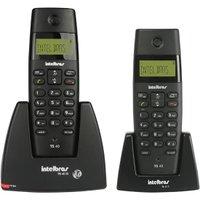 Telefone sem Fio Intelbras 1,90 Ghz TS40C com Ramal