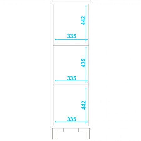 Estante Click Linha Easy BLC20 - BRV Móveis