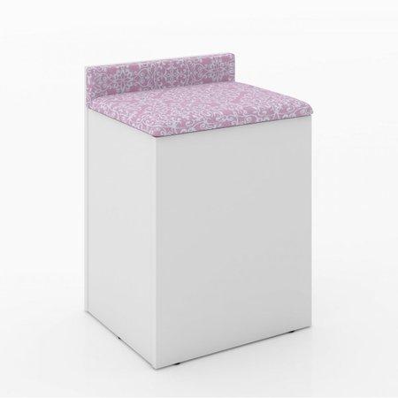 Puff Baú PU2052 - Tecno Mobili -  Rosa