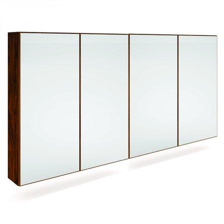 Armário 4 Portas com Espelho TB82L - Dalla Costa