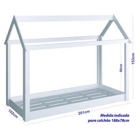 Cama Montessoriana BY400 - Completa