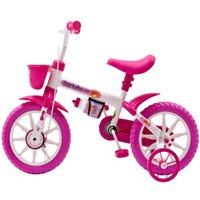 Bicicleta Infantil Fischer Ferinha Kids, Aro 12, Quadro Aço Carbono, Rosa