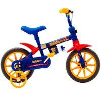Bicicleta Infantil Fischer Ferinha Kids, Aro 12, Quadro Aço Carbono, Azul