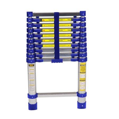 Escada de Alumínio Telescópica 10 Degraus - Mor