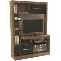 Estante Home Theather Dalla Costa com 2 Portas e 7 Prateleiras E204