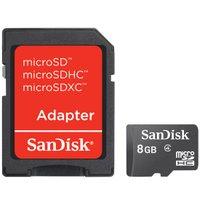 Cartão de Memória Micro SD SanDisk 8GB