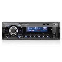 Som Automotivo Multilaser Talk, Bluetooth, Rádio FM, Entrada USB, SD e Auxiliar