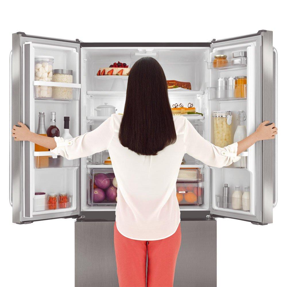 Resultado de imagem para cozinha com refrigerador 3 portas