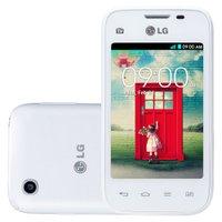 Smartphone LG L35 Dual TV, Android 4.4, 3G, 4GB, Branco - D157F