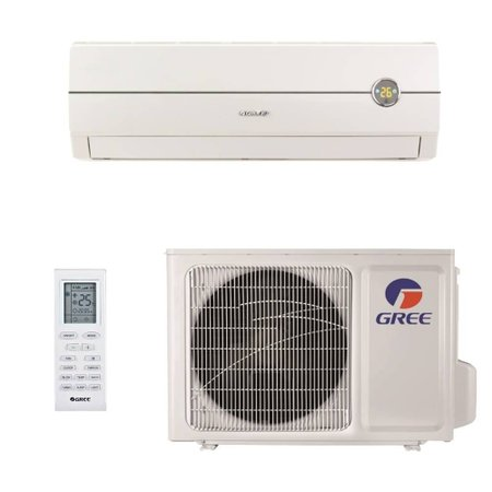 Ar Condicionado Split Hi Wall 9000 BTUs Gree Garden Quente/Frio GWH09MA-D1NNA8C