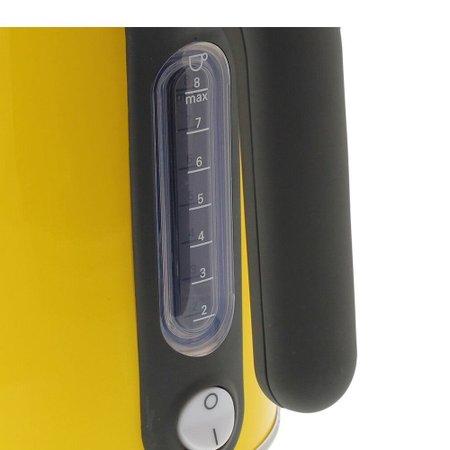 Chaleira Elétrica Kenwood Kmix 1,6L Aço Inox Amarela 220V SJM038