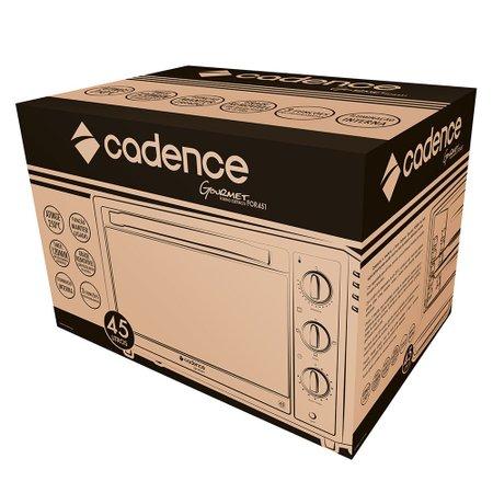 Forno Elétrico Cadence Gourmet 45L, Preto - FOR451