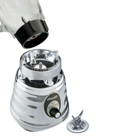 Liquidificador Clássico 3 Velocidades Prata - Oster