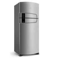 Geladeira Consul Frost Free Duplex 405 litros cor Inox com Filtro Bem Estar