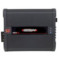 Módulo Amplificador SounDigital SD5000.1D EVO 2.1 Black 1 Canal 6530 Watts RMS 2Ohm