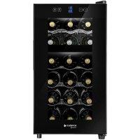 Adega Gourmet 18 Garrafas Dual Zone Touch Preto (ADE180) - Cadence