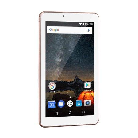 Tablet Multilaser M7S Plus Quad Core Câmera Wi-Fi 1 Gb De Ram Tela 7 Pol. Memória 8Gb Rosa - NB275