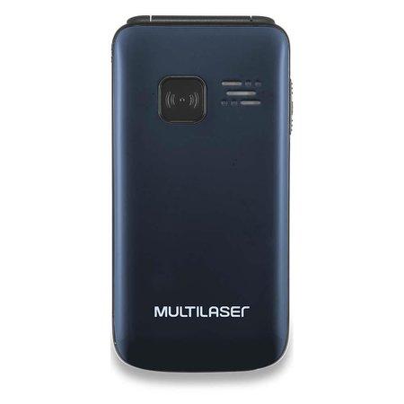 Celular Flip Vita Dual Chip Mp3 Azul Multilaser - P9020