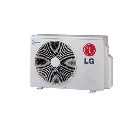 Ar-Condicionado Bi Split Cassete LG, Quente/Frio 1x9000 BTUs 1x12000 BTUs Inverter 4 Vias A2UW16GFA2