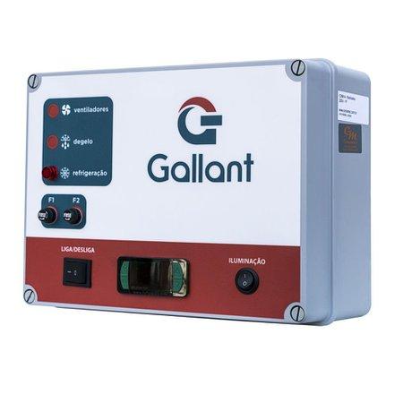Câmara Fria Gallant 01C-ECP 2x1 Paineis Congelado Standard com Piso Pain com Cond Elgin