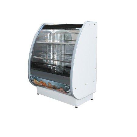 Expositor de Confeitaria Standard Estufa 700mm Curvo Simples  - Gallant