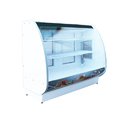 Expositor Vitrine de Confeitaria Standard Refrigerado 1500mm - Gallant