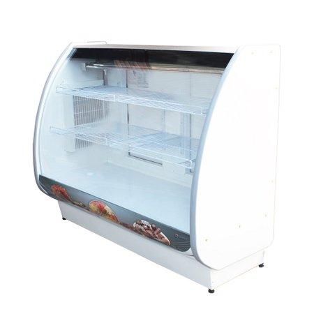 Expositor Vitrine de Confeitaria Standard Refrigerado 180 cm - Gallant