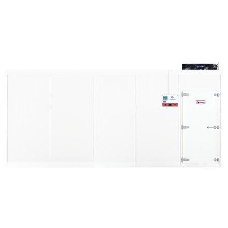 Câmara Fria Gallant 08R-ECP 5x5 Painéis Resfriado Standard com Piso Pain com Cond Elgin