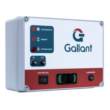 Câmara Fria Gallant 07R-DSP 4x5 Painéis Resfriado Standard sem Piso Pain com Cond Danf