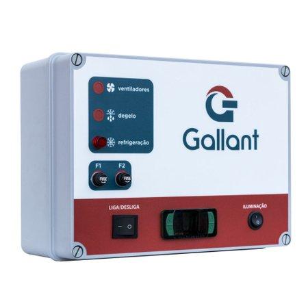 Câmara Fria Gallant 07C-ECP 4x5 Painéis Congelado Standard com Piso Pain com Cond Elgin