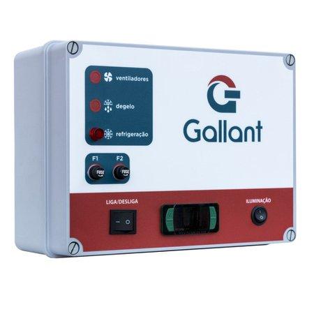 Câmara Fria Gallant 08C-ECP 5x5 Painéis Congelado Standard com Piso Pain com Cond Elgin