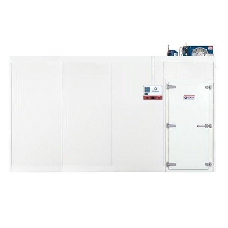 Câmara Fria Gallant 06C-DCP 4x4 Paineis Congelado Standard com Piso Pain com Cond Danfcv