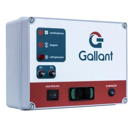 Câmara Fria Gallant 06C-ECP 4x4 Painéis Congelado Standard Com Piso Pain com Cond Elgin