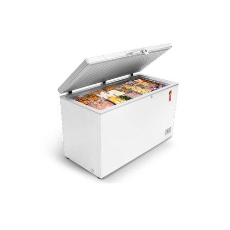 Freezer Midea Horizontal 1 Porta, Branca, 415L - RCFA41