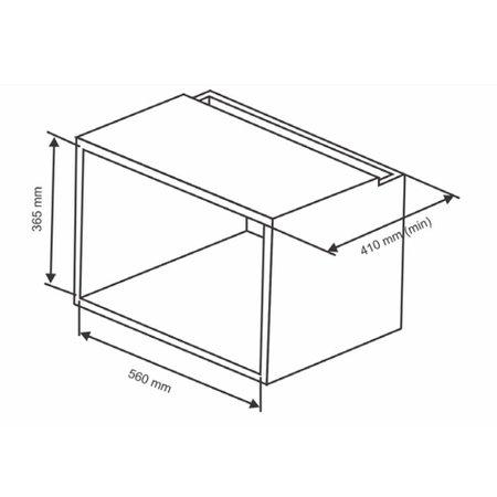 Micro-Ondas de Embutir 23 Litros N230 Nardelli